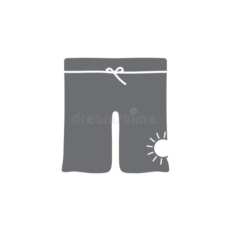 Mannschwimmenstammikone Einfache Elementillustration Mannschwimmenstamm-Symboldesignschablone Kann für Netz und Mobile verwendet  lizenzfreie abbildung