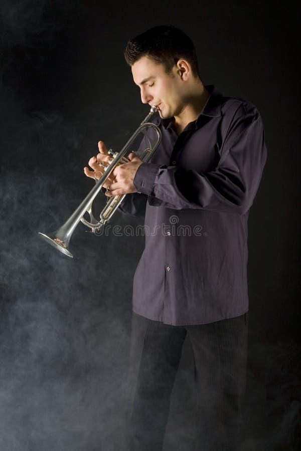Manntrompete Lizenzfreie Stockfotografie