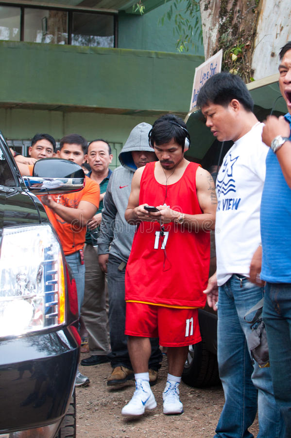 Manny Pacquiao stockfoto