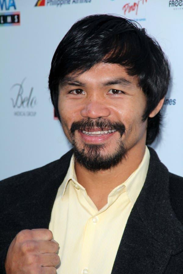 Manny Pacquiao fotografia stock libera da diritti