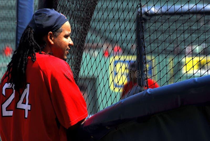 Manny Ramirez Boston Red sox royalty free stock image