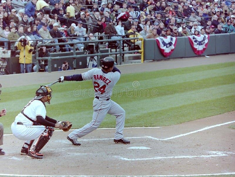 Manny Ramirez Boston Red Sox immagini stock