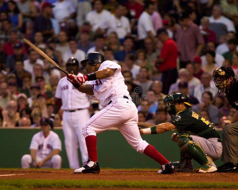 Manny Ramirez, Boston Red Sox fotografia stock libera da diritti