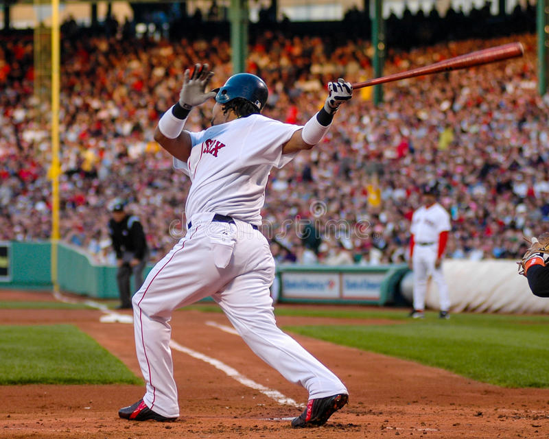 Manny Ramirez, Boston Red Sox fotografia stock