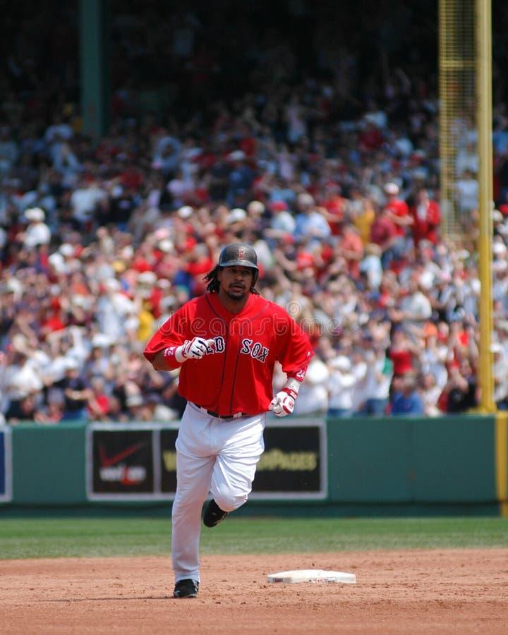 Manny Ramirez Boston Red Sox immagine stock libera da diritti