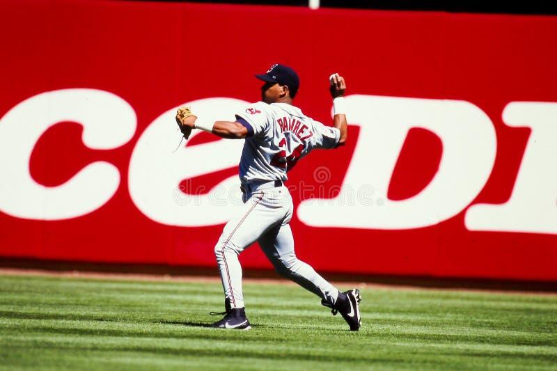 Manny Ramirez Cleveland Indians fotografia stock libera da diritti