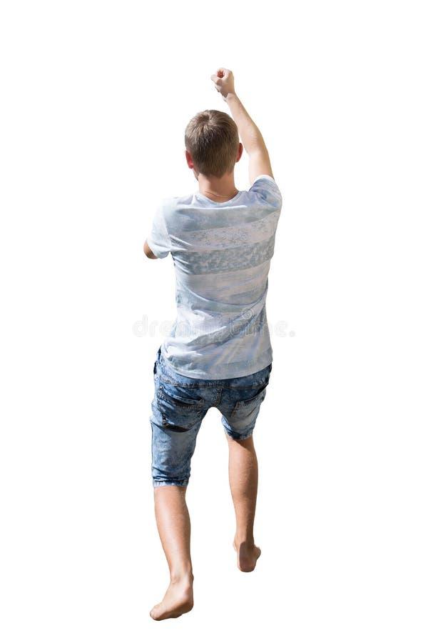 Mannzug lizenzfreies stockbild