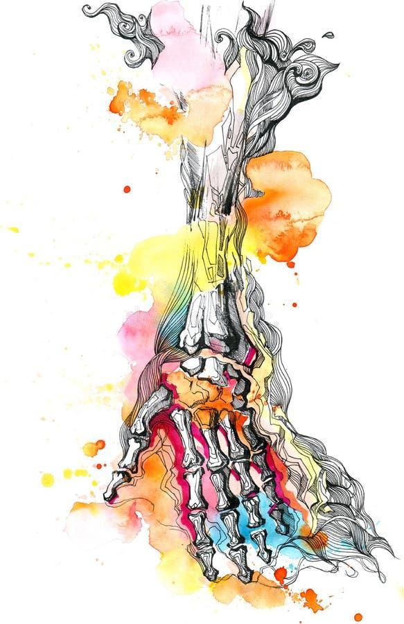 Mano libre illustration