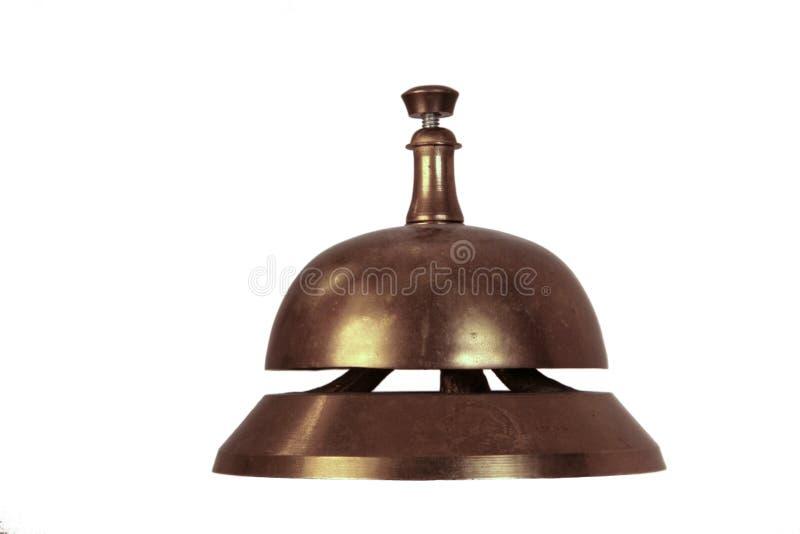 Mano Bell foto de archivo libre de regalías