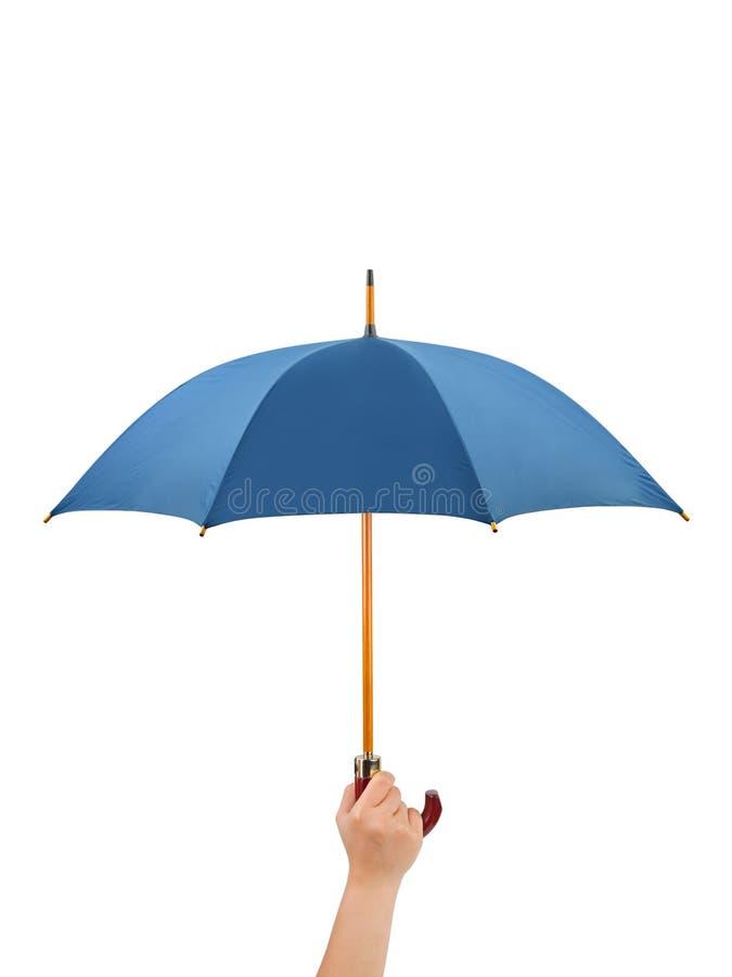 Mano con el paraguas imágenes de archivo libres de regalías