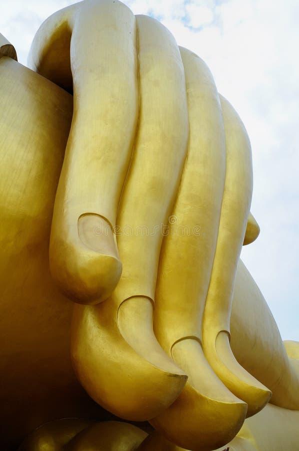 Mano de Buddha foto de archivo libre de regalías