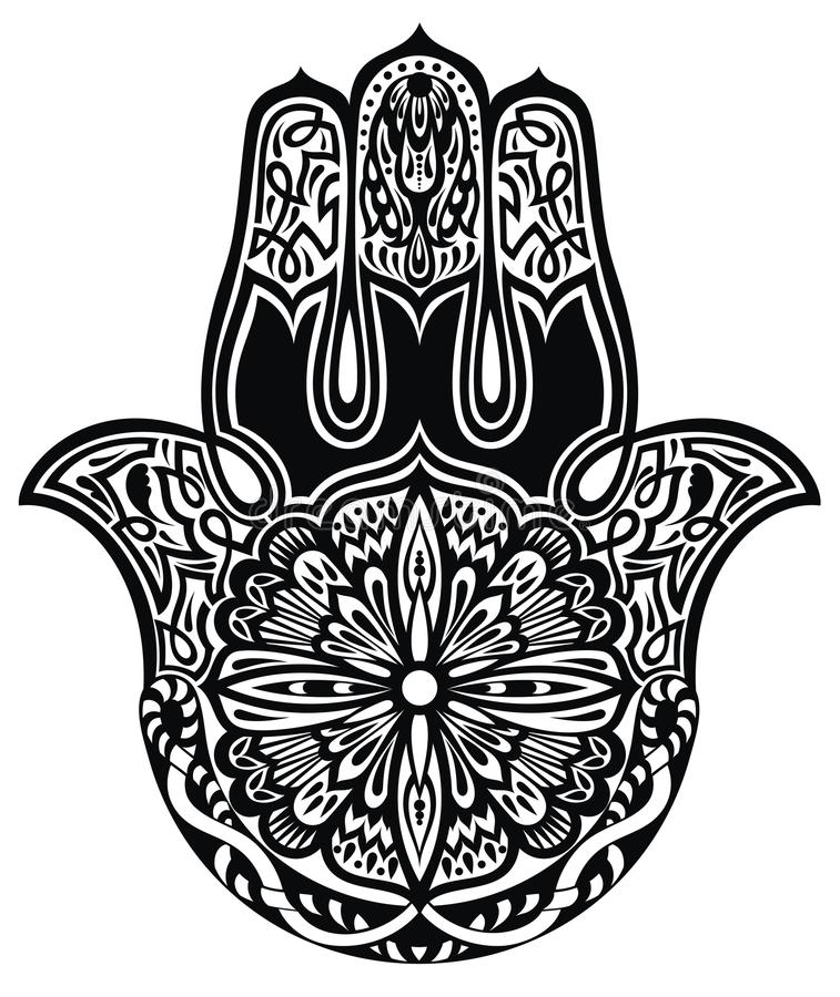 Mano de Hamsa libre illustration