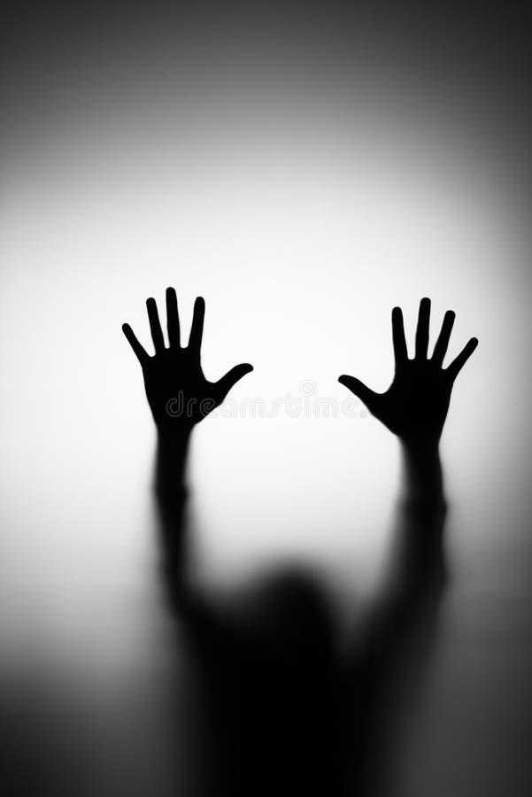 Mano dei fantasmi fotografia stock libera da diritti