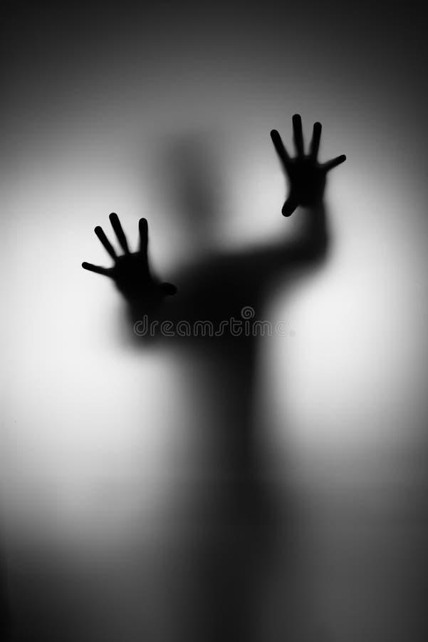 Mano dei fantasmi fotografie stock