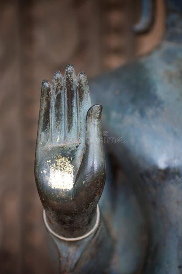 Mano del Buddha fotografia stock libera da diritti