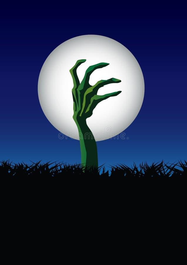 Mano del zombi libre illustration