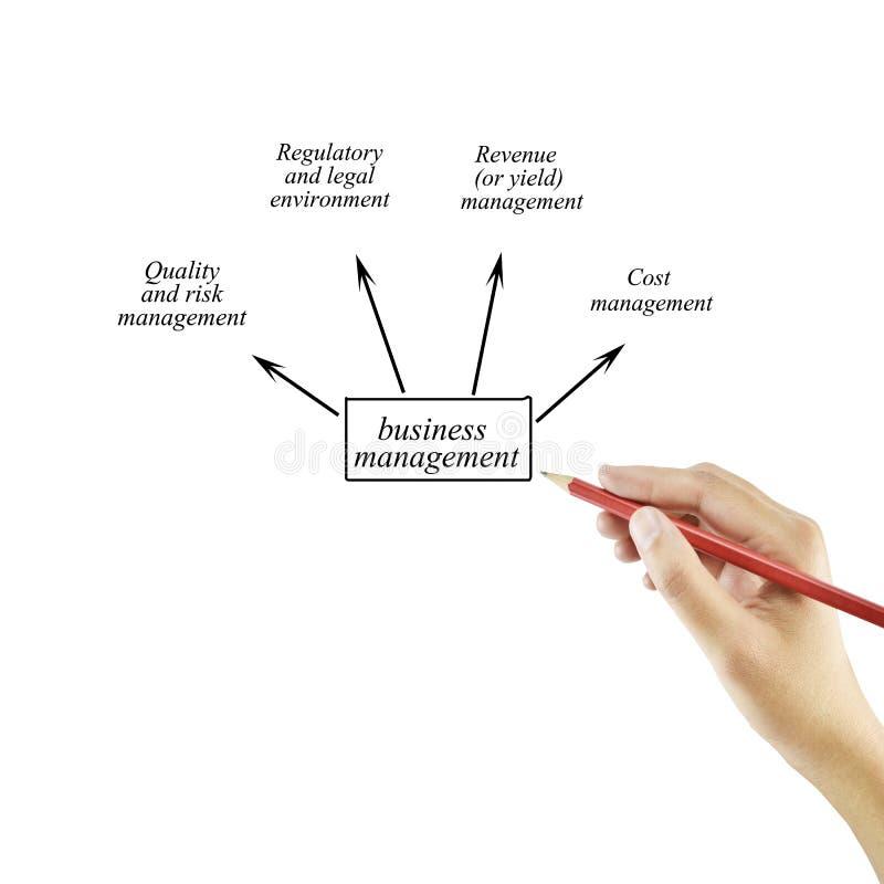 Mano della donna e presentazione di gestione di impresa per nel busine immagine stock