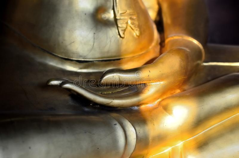 Mano di Buddha fotografie stock libere da diritti