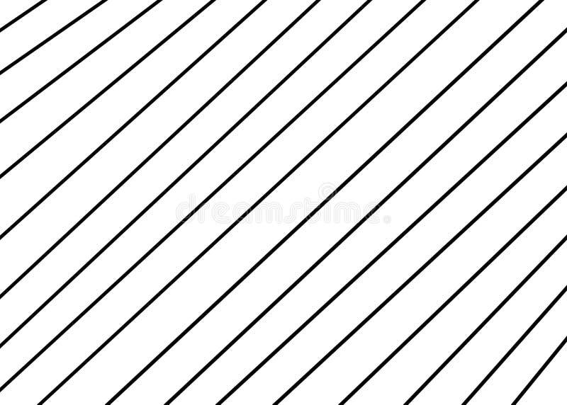 Mano dibujada, monocromo abstracto creado de formas geométricas como fondo stock de ilustración
