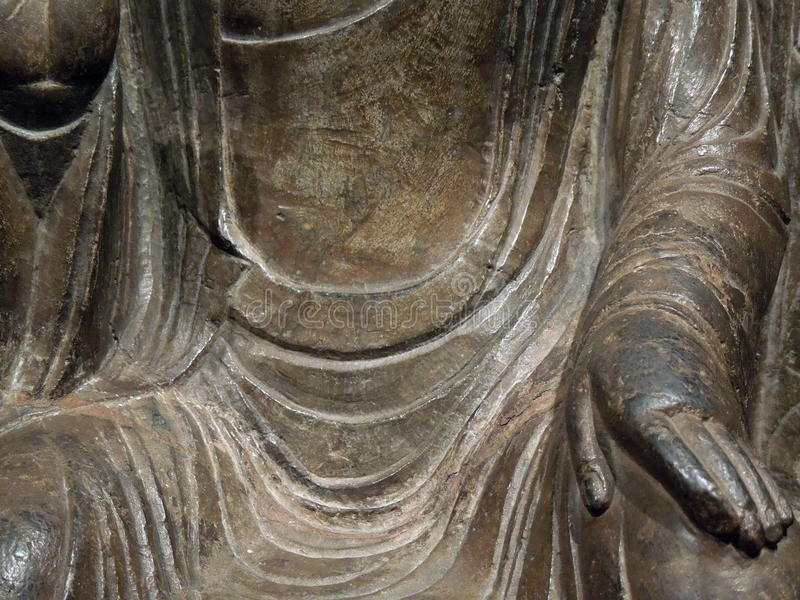 Mano Mudra di Buddha fotografia stock libera da diritti