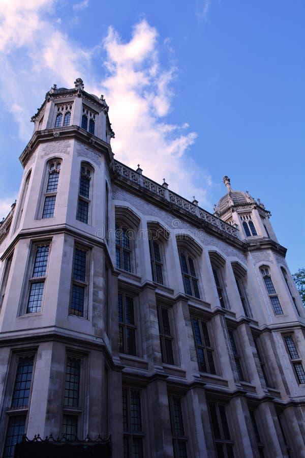 Manoir blanc élégant Londres, Royaume-Uni images stock