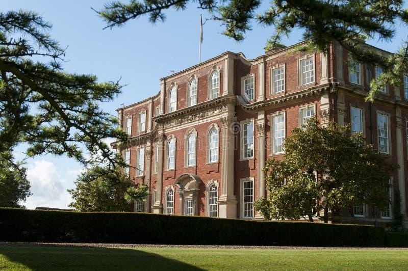 Manoir Chicheley Hall de pays image libre de droits