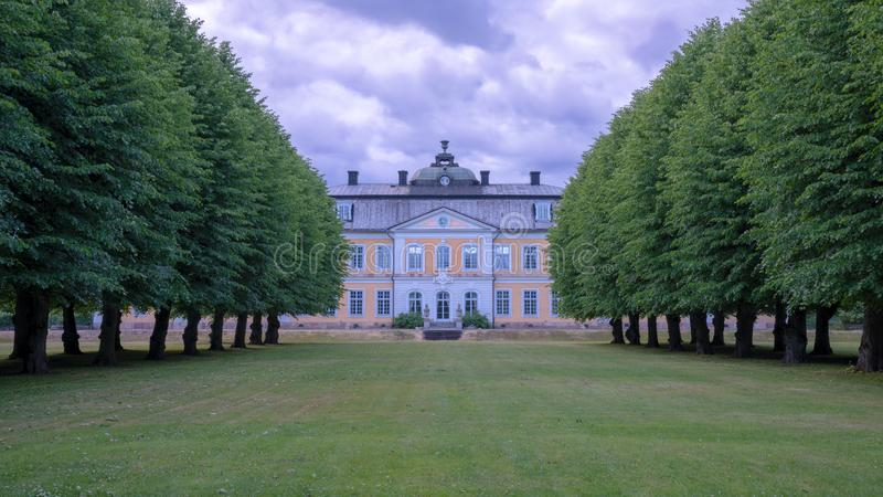 Manoir d'Osterbybruk photos libres de droits
