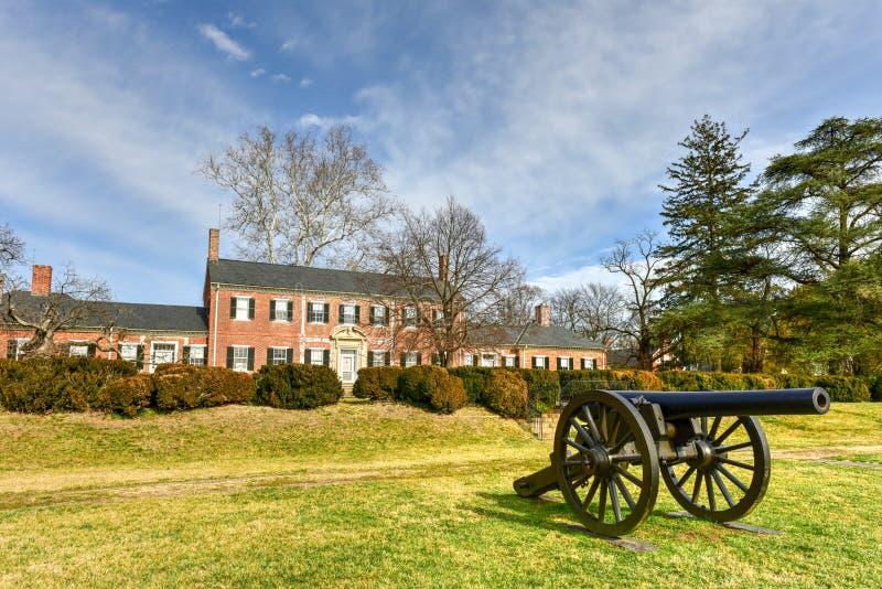 Manoir de Chatham - Stafford County, la Virginie photographie stock