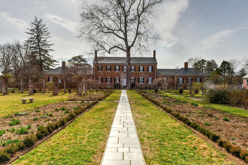 Manoir de Chatham - Stafford County, la Virginie images stock