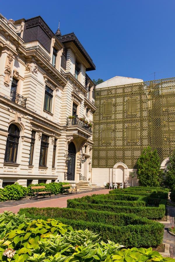 Manoir de Ghika Bradisteanu à Bucarest photos libres de droits