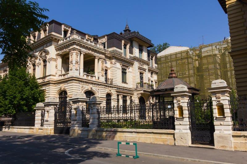 Manoir de Ghika Bradisteanu à Bucarest photo libre de droits