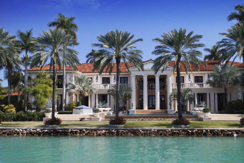 Manoir de Miami image libre de droits