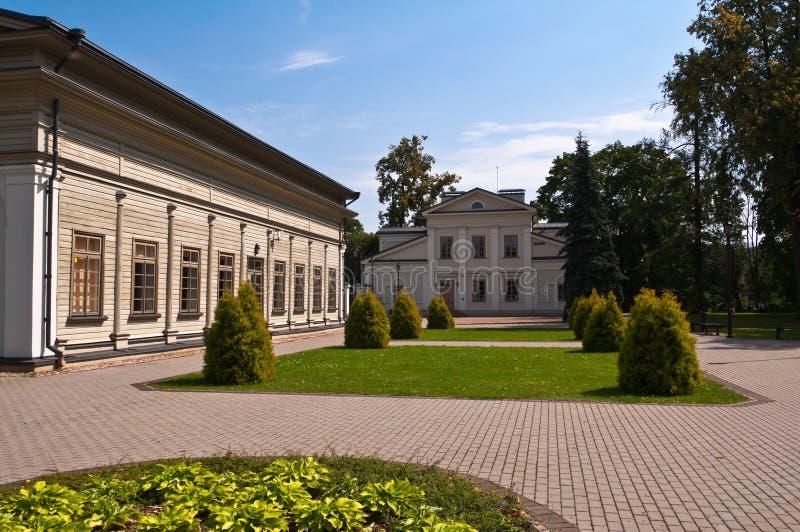 Manoir de Tuskulenai à Vilnius, Lithuanie photo libre de droits