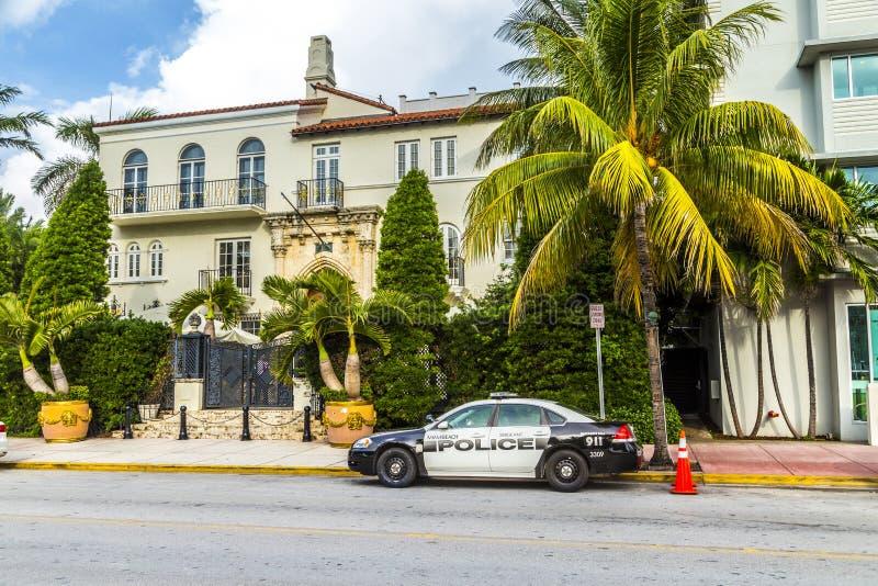 Manoir de Versace de Miami photo stock