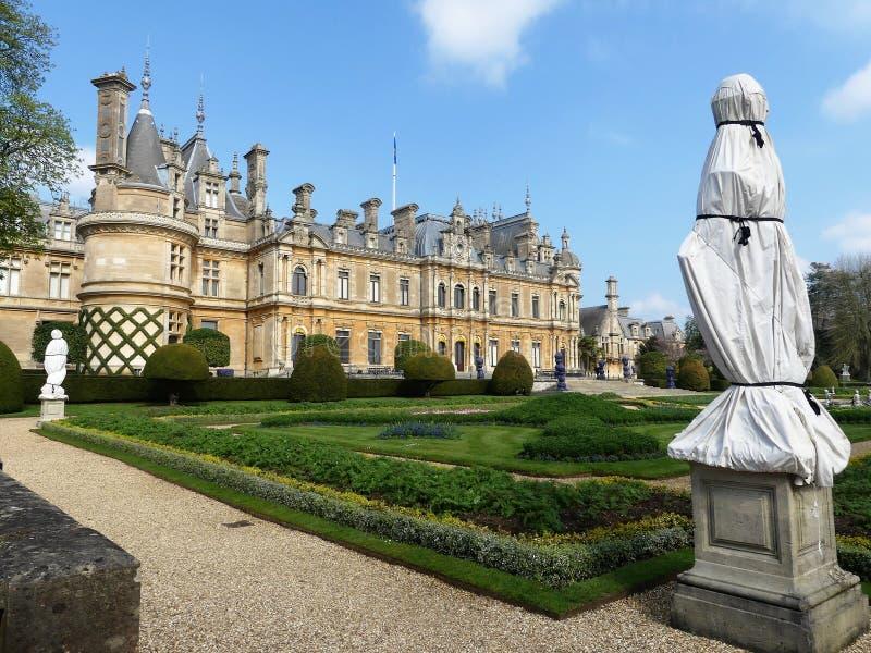 Manoir de Waddesdon une maison de campagne et jardins construits entre 1874 et 1889 pour Baron Ferdinand de Rothschild photographie stock
