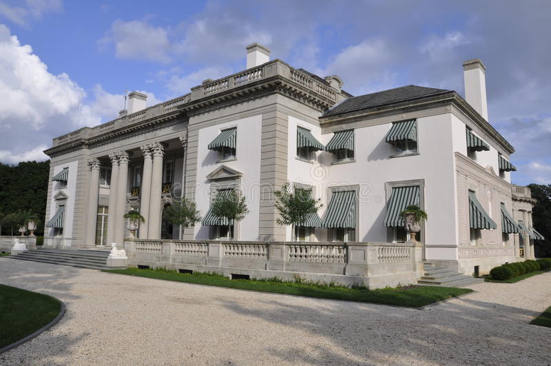 Manoir et jardins de Dupont photos stock