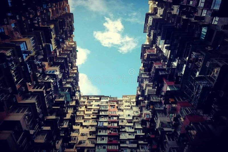 Manoir Montane HK photographie stock libre de droits