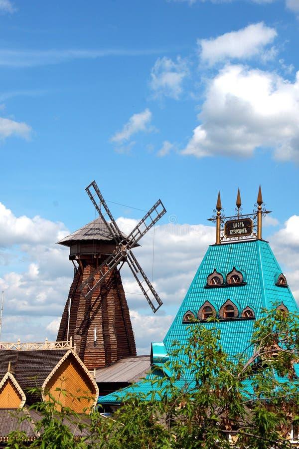 Manoir russe. image stock
