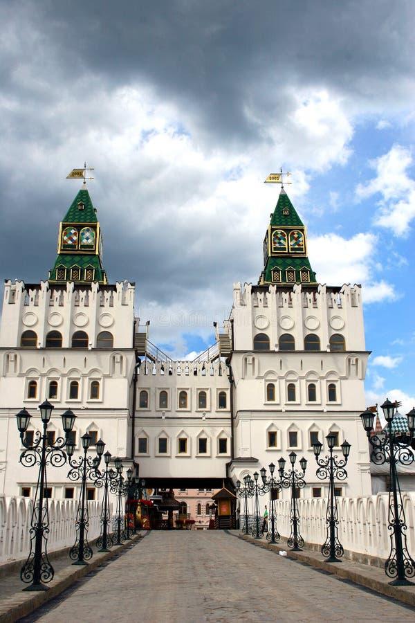 Manoir russe. photos stock
