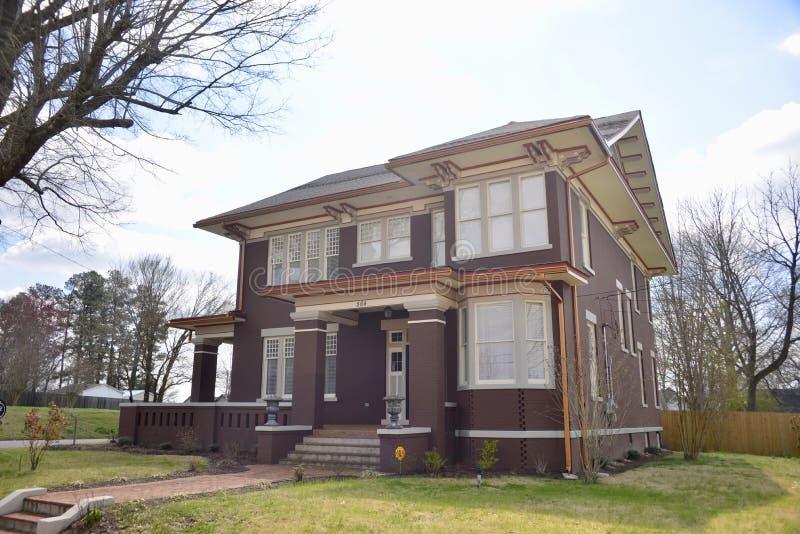 Manoir victorien Jackson, Tennessee de Chambre de Stegall photo libre de droits