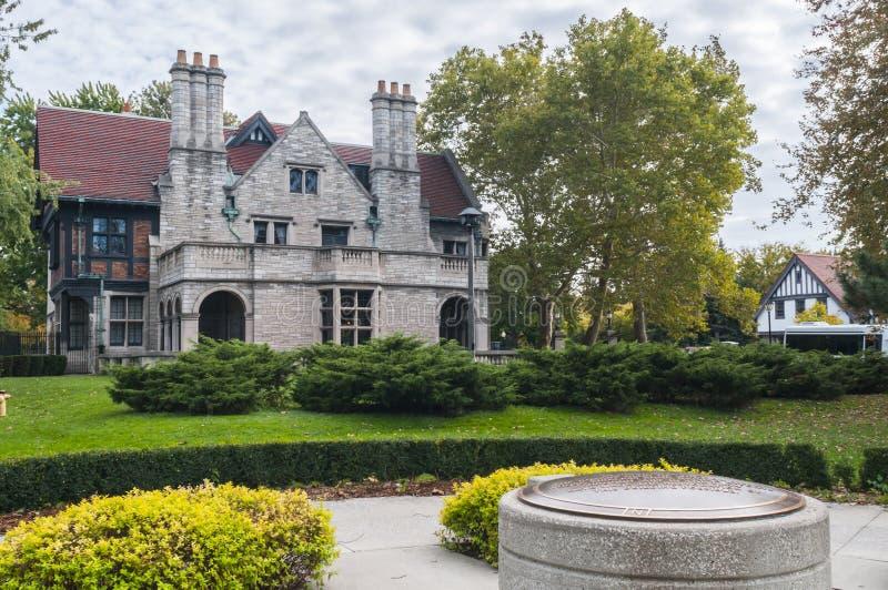 Manoir Windsor Ontario de Willistead image stock