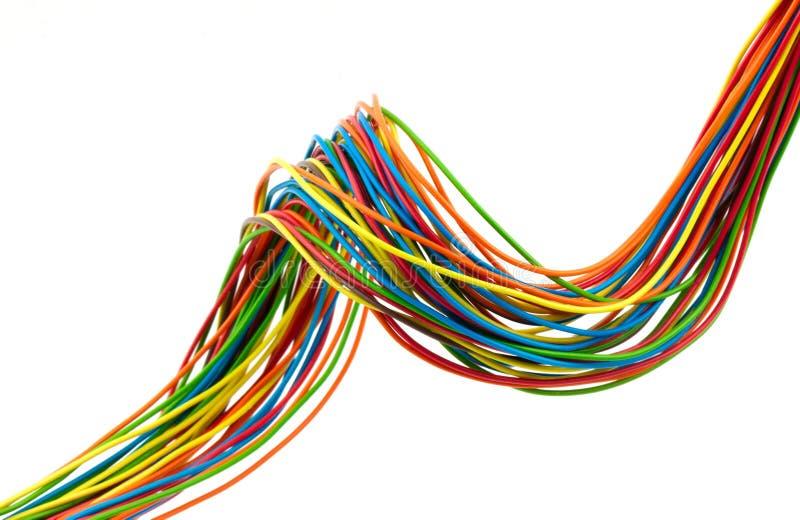 Manojo de alambres ilustración del vector