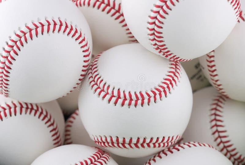 Manojo de béisboles imagen de archivo libre de regalías