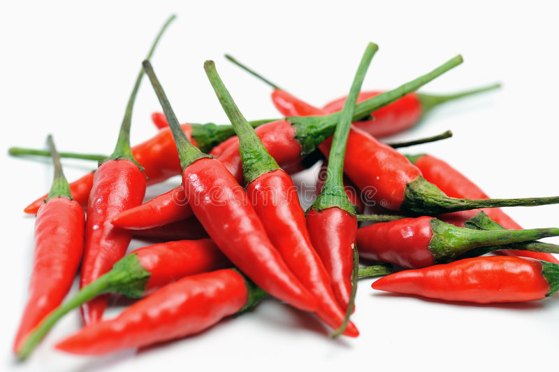 Download Manojo de chiles rojos II imagen de archivo. Imagen de industrias - 7275117