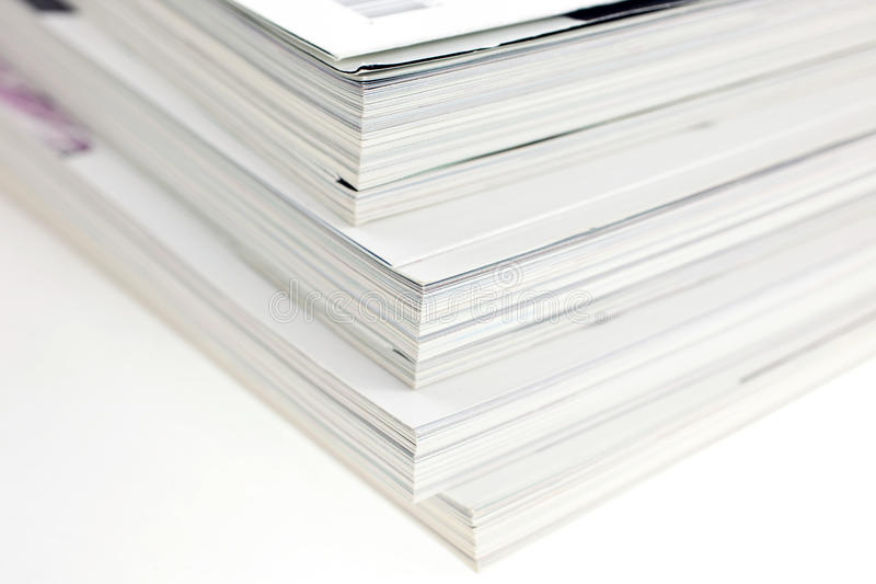 Manojo de compartimientos usados fotos de archivo libres de regalías