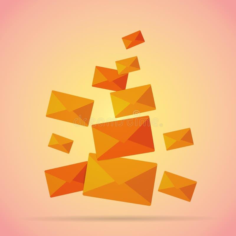 Manojo de correos libre illustration