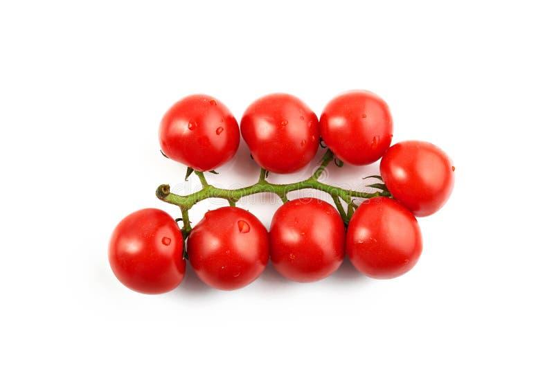 Manojo de tomates frescos fotos de archivo