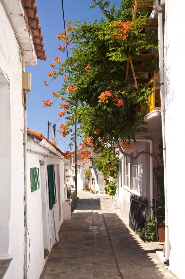 Manolates su Samos immagini stock libere da diritti