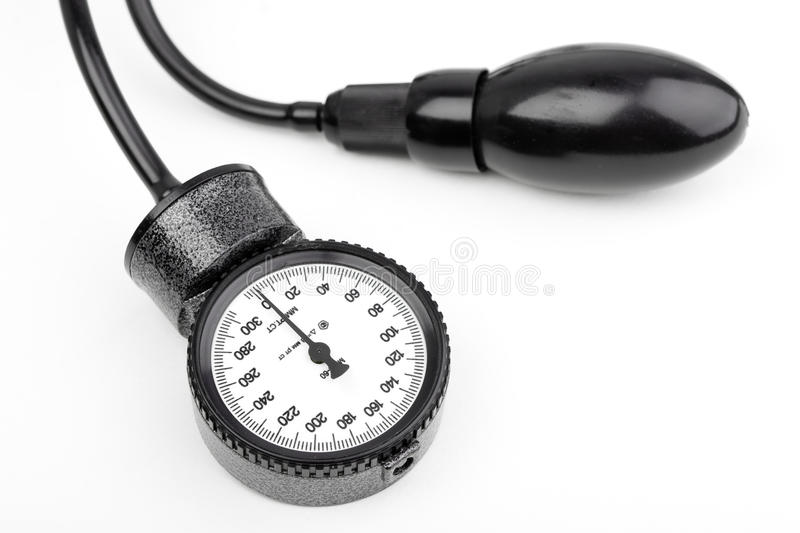 Download Manometer For Blood Pressure Isolated Stock Photo - Image: 11490358
