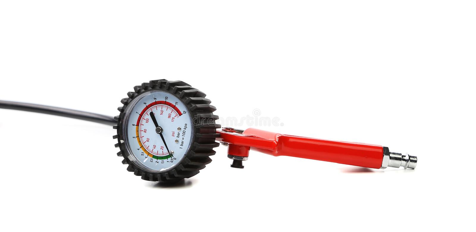 Manometer. Instrument for the measurement of pressure and vacuum royalty free stock photography